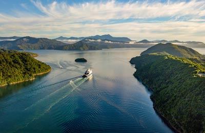 Új Zéland Kompok