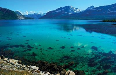 Norvégia Kompok